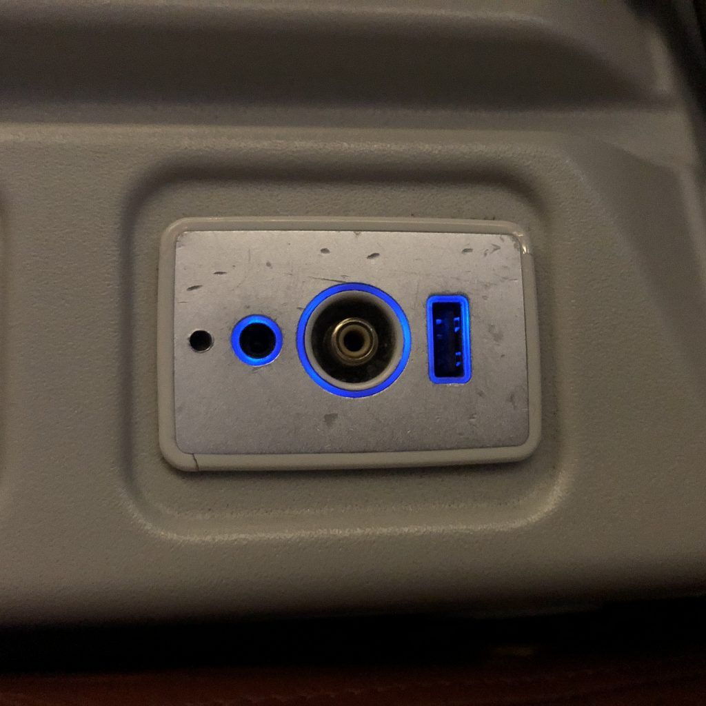 Sri Lankan Airlines plugs