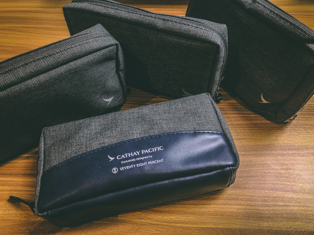Unopened Business Class Cathay Pacific Seventy Eight Percent Amenity Bag Airlines